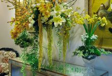 Golden Winter Wedding by Flora Lines Decoration