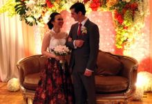 Batik Wedding Dress by Gladicious