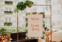 Tropical Glam - Farrukh & Beatriz by Amperian
