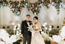Skenoo Hall - International Wedding of Bima & Irene by IKK Wedding Venue