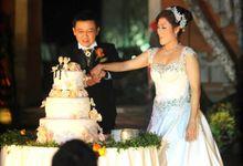 MC Andy and Irene wedding at Ayana Resort by MC Rendy Rustam