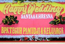 The Wedding of Santa & Khresna Part II by Alux's Event & Wedding Creator