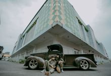 Prewedding Fitra // Shanti garage session by Horizontal Studio