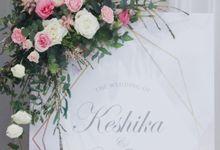 Keshika and Mark by O'hara Weddings