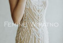 Hand Painted Gowns by Femine Wiratno