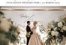 Fanty & Firdyan - The Wedding by InStyle Project