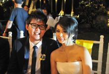 MC Wedding Kristo & Paulina at Taman Bhagawan by MC Rendy Rustam