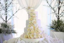 Wedding Cakes by Cupkeyk N Art