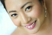 Bridal Make Up by Ochie Laraya hair and makeup