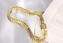 TIARIA Chain Gold Bracelet Perhiasan Gelang Emas by TIARIA