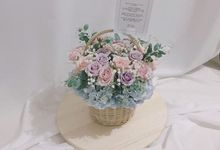 Blooming Basket by Lacey Florist