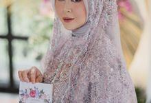 Kesha Ratuliu - Pengajian by Zia Brides Make Up Artist & Kebaya