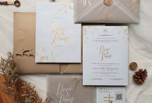 CORELLIA WEDDING INVITATION by CORELLIA INVITATION