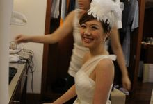 Bali Destination Solemnization Photoshoot by Angel Chua Lay Keng Makeup and Hair