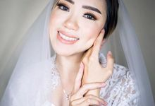 Bride / Wedding makeup by Christine Liu Make Up Artist