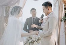 Inandra & Stella's wedding by Atham Tailor
