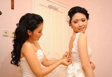Inggrid + Mario Wedding by Moisel Makeup
