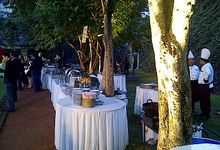 Outdoor Wedding Party by YS CATERING