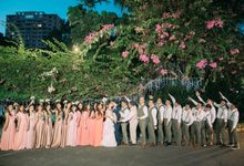 Rustic Garden themed wedding in the middle of the Metro Manila Cityscape by Lea Mae Roa