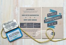 invitation by Papermint Wedding