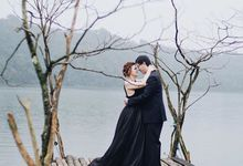 prewedding by attelia bridal