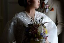 Mr S and Mrs S Wedding Day by Vandelina Brides