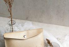 Envelope Clutch for Dinda & Deni by Memoire Souvenir