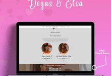 Wedding Invitation Elsa & Degas by Hadiryaa (Web & Mobile Invitation)