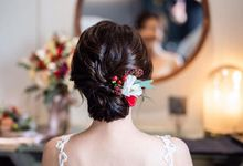 Adelene Wedding by Makeup Pros