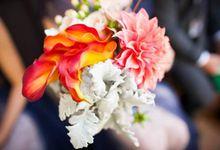 Bookbarn Wedding Decor by Fleuri