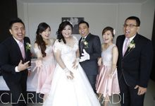 BRIDESMAID / POLONAISE by CLARISSA HARYADI