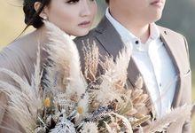 Yuli and Chris Prewed by Pallava Flower Studio