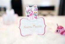Suri Birthday by Nona Manis Creative Planner