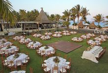Wedding Dinner Eric & Sonya by The Royal Santrian Luxury Beach Villa