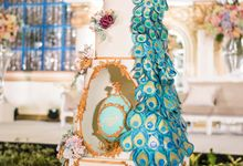 Classic Baroque Theme - Sheraton Grand Jakarta by Ivoire Cake Design