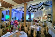 Beautiful Wedding Light of Nurina & Kenny by Etcetera Lighting