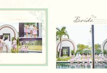 Abril and Debby Wedding by Magnifica Organizer