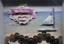 Mahar Scrapframe 30x30 cm Premium Frame by Cotton Candy Jogja