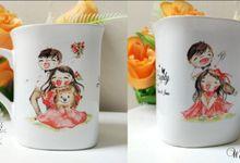 Raydias dan Irene Wedding by Mug-App Wedding Souvenir