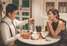 Engagement [NIGHT] PHOTOGRAPHY - PRISCILLA & WEILIANG by Knotties Frame