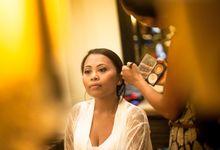 Wedding MakeUp by rob Peetom bali by Kara Photography