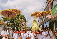 A.A GD Alit Kresna sanjaya & A.A istri kartika sari by Maknaportraiture