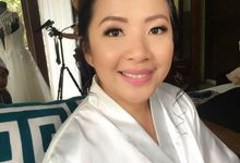 Angel and Chuck Wedding by Make Up Artistry by Jac Sindayen