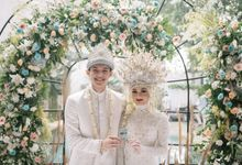 The Wedding of Dinda Rey by Dibalik Layar
