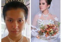 wedding makeup by Levina Giovanni MakeUp Artist