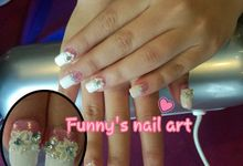 Wedding Nails by Funny's Nail art