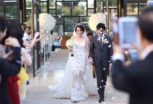Hengky & Meidy by felicia sasongko wedding make up