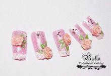 Wedding Nails by Bellanailart