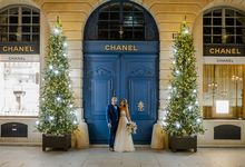 Winter Elopement in Paris by LE SECRET D'INDIRIHYA