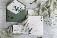 Eucalyptus Greenery by Trouvaille Invitation
